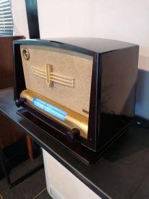 Radio vintage TSF THOMSON DUCRETET de 1952 bluetooth