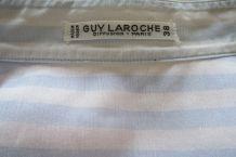 Chemisier rayé Guy Laroche vintage