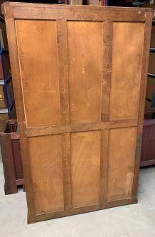 Petite armoire-étagère vintage en bois années 50