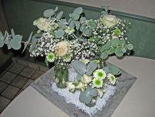 Décoration de mariage, pour table ou buffet