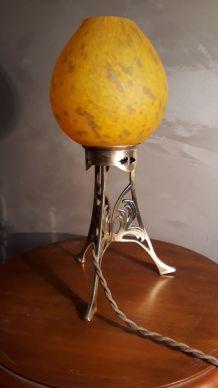 lampe veilleuse pate de verre