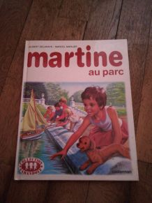 Livre Martine au parc