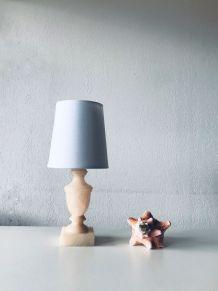 Lampe en Albâtre rose