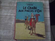 TINTIN le crabe aux pinces d'or 1947.  hergé