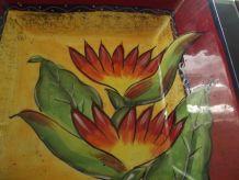 corbeille a fruit ceramique années 70/80
