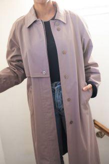 Manteau trench doublé vintage