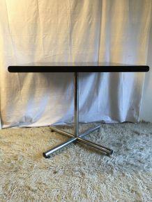 Table bistrot design Suisse (DEM) – années 70
