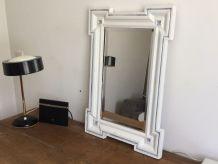 Miroir vintage. Glace biseauté. 78x53.