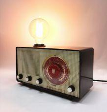 """Lampe industrielle, lampe vintage - """"Bonnes Ondes"""""""