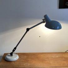 Lampe d'atelier articulée « SUPER CHROME ». 1960/70.
