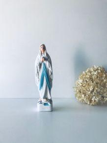 Vierge ancienne en plâtre