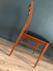 Set de 4 chaises scandinave Vintage 1960