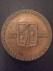 Médaille bronze de André-Henri Torcheux pour Syndicat Eaux