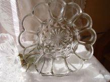 Coupe en verre moulé
