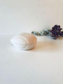 Boîte coquillage en céramique