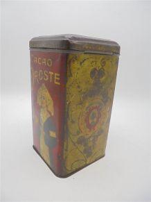 Ancienne boîte en métal