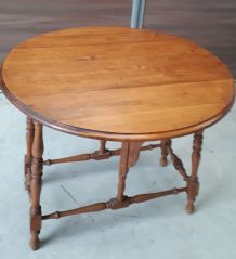 table ronde pliable d appoint