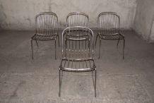 4 chaises années 70 - parfait état