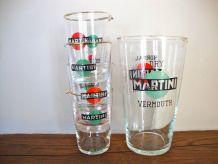 Set de verres à cocktails martini