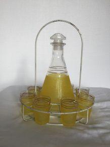 Service à liqueur granité 50's