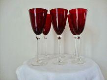 6 verres à vin ou champagne
