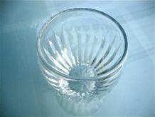 Vase coupe en cristal taillé