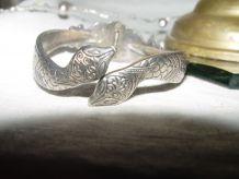 Bracelet ancien ethnique serpent