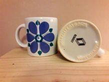 Tasse Mug pub Renault année 70 ceramique
