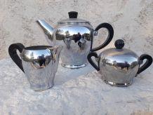 service a café nickel chrome bakelite