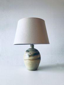 Lampe en céramique émaillée