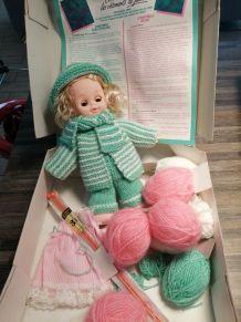 Je tricote le trousseau de Julie