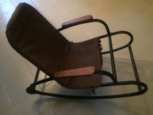 Rocking Chair Tubulaire du Bauhaus 1930s