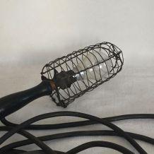 Ancienne baladeuse d'atelier, éclairage pour une déco indust