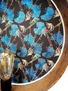 """Applique vintage, lampe murale """"Tropique"""""""
