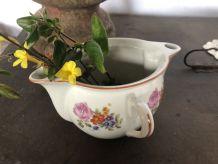 Saucière ancienne  motif floral