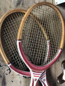 Duo raquettes de tennis vintage MARCO