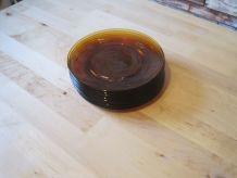 9 assiettes  a desserts  en verre fumé duralex  vintage