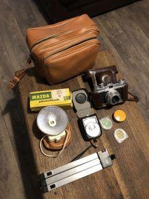 Appareil photo et accessoires flash trépied bilora mod 4017