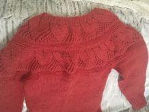 Pull chaud en laine
