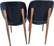2  chaises modèle Pégase de Baumman par Pierre Guariche