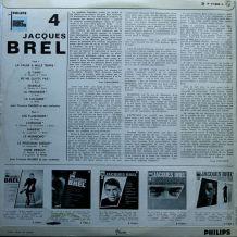 Disque Vinyle Jacques Brel 4