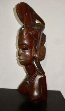 ANCIENNE STATUE AFRICAINE