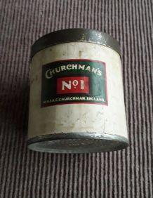 Boîte à cigarettes Churchman's. 1944-45