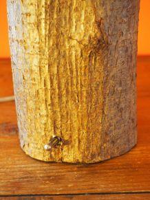 Lampe de table en bois design