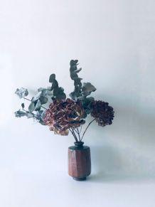 Vase bohème en grès émaillé