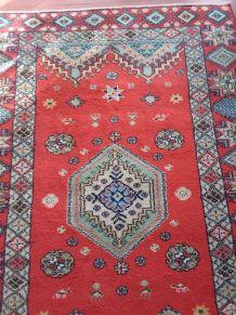 Ancien tapis marocain de RABAT des années 50