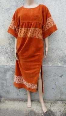 Yves Saint Laurent  collector robe éponge 38/40