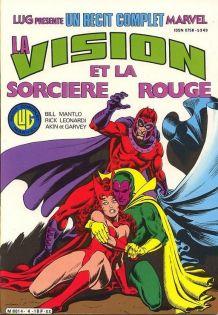 Récit Complet Marvel N°4 la Vision Et La Sorcière Rouge