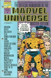 Official Handbook Of The Marvel Universe Master Edition n°18