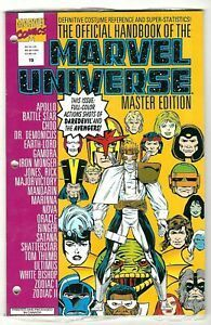 Official Handbook Of The Marvel Universe Master Edition n°19